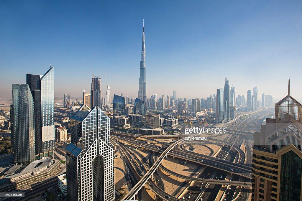 Día soleado en Dubai : Foto de stock