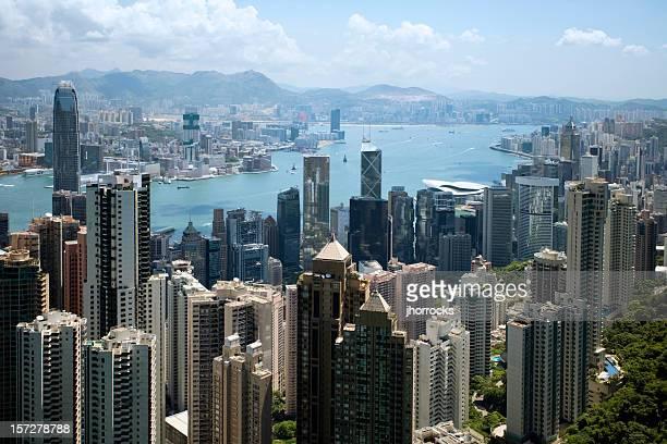 Sunny Day in Hong Kong