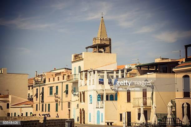 Sunny Italian town of Alghero
