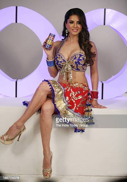Sunny Leone shoots for XXX energy drink commercial in Mumbai on April 15 2013