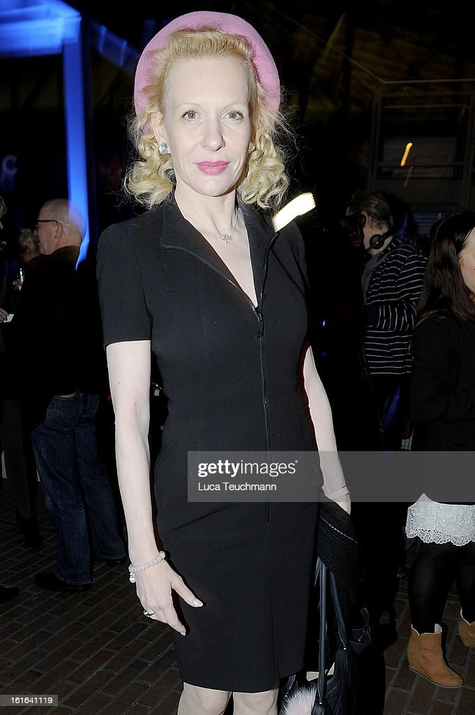 Sunny Mellies attends the 'Night Train to Lisbon' after show party during the 63rd Berlinale International Film Festival at the Technik Museum on February 13, 2013 in Berlin, Germany.