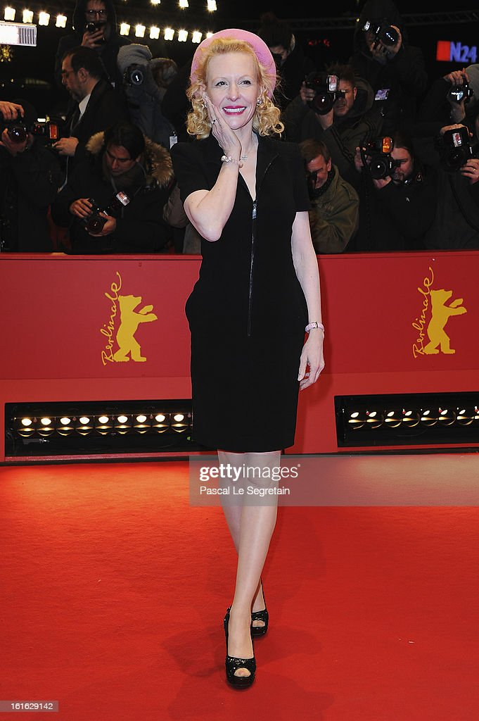 Sunny Mellies attends the 'Night Train to Lisbon' Premiere during the 63rd Berlinale International Film Festival at the Berlinale Palast on February 13, 2013 in Berlin, Germany.