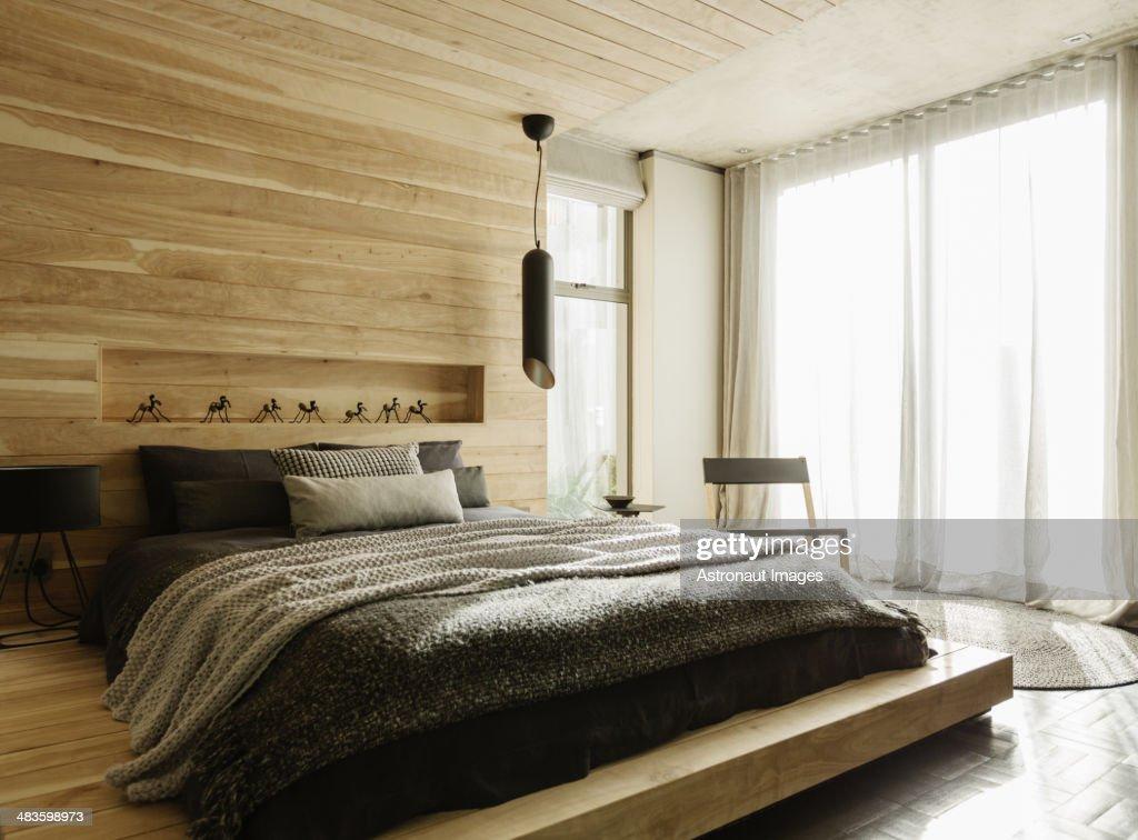 Sunny modern bedroom