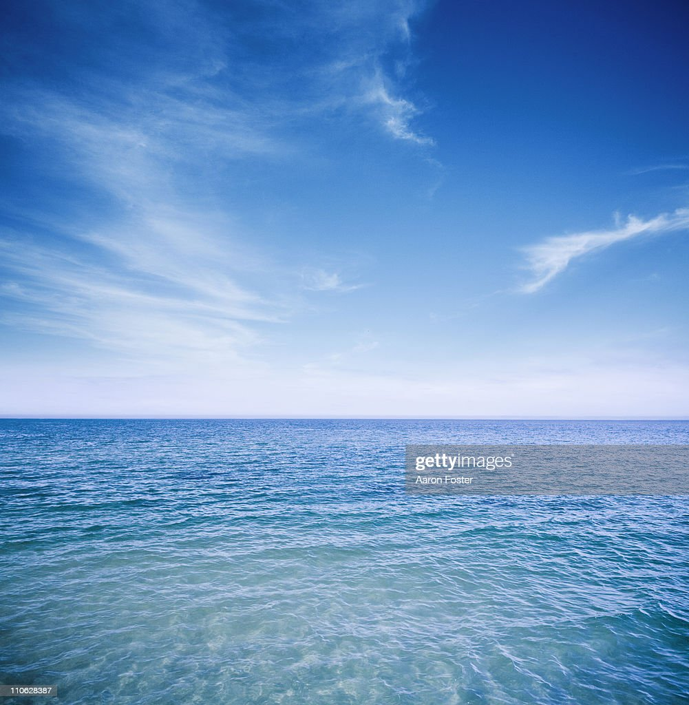 Sunny Ocean : Stock Photo