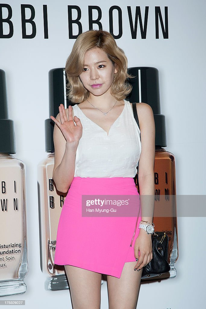 Sunny of South Korean girl group Girls' Generation attends a promotional event for the 'Bobbi Brown' Pop Up Lounge Opening Party on August 2, 2013 in Seoul, South Korea.