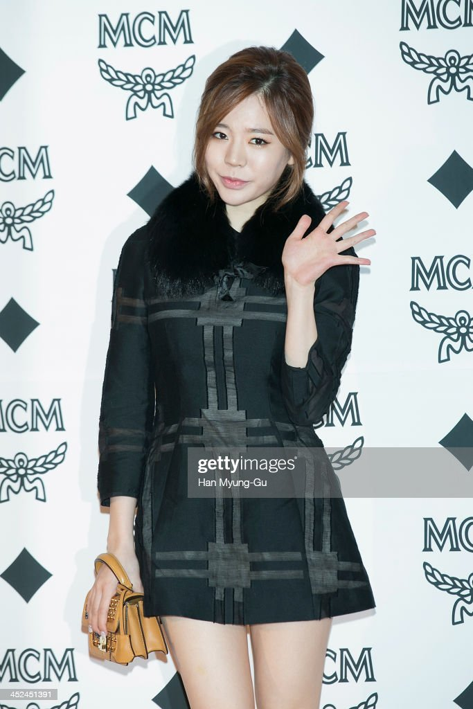 Sunny of South Korean girl group Girls' Generation attends the MCM S/S 2014 Seoul Fashion Show at Lotte Hotel on November 26, 2013 in Seoul, South Korea.