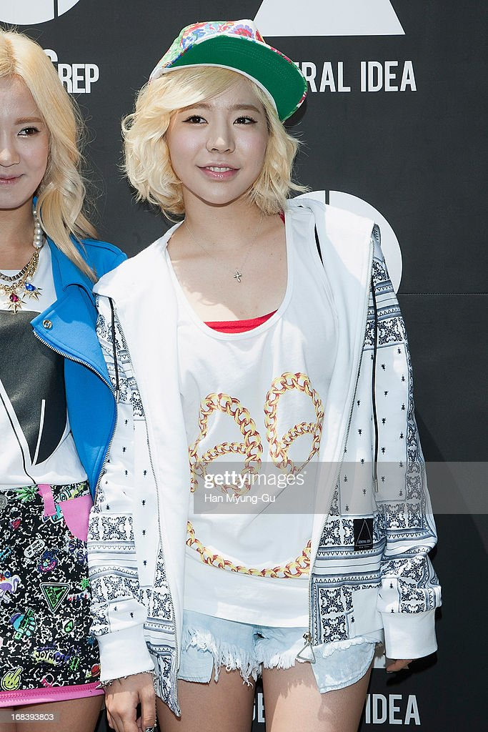 Sunny of South Korean girl group Girls' Generation poses for media during a promotional event for the 'General Idea' Gangnam Store on May 8, 2013 in Seoul, South Korea.