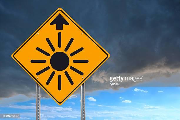Sunny Outlook avanti Cartello stradale