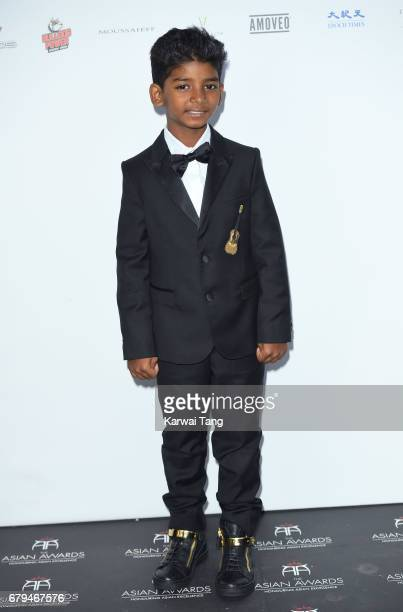 Sunny Pawar attends The Asian Awards at the Hilton Park Lane on May 5 2017 in London England