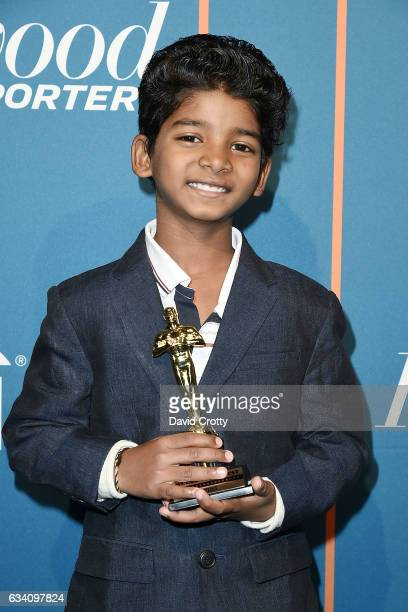 Sunny Pawar attends The Hollywood Reporter 5th Annual Nominees Night Arrivals at Spago on February 6 2017 in Beverly Hills California