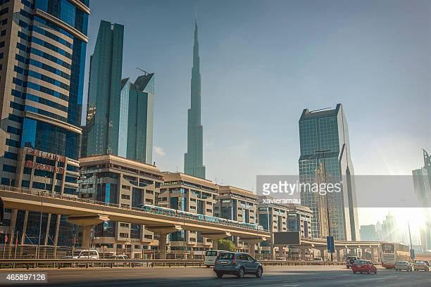 Sunny Sheikh Zayed Road