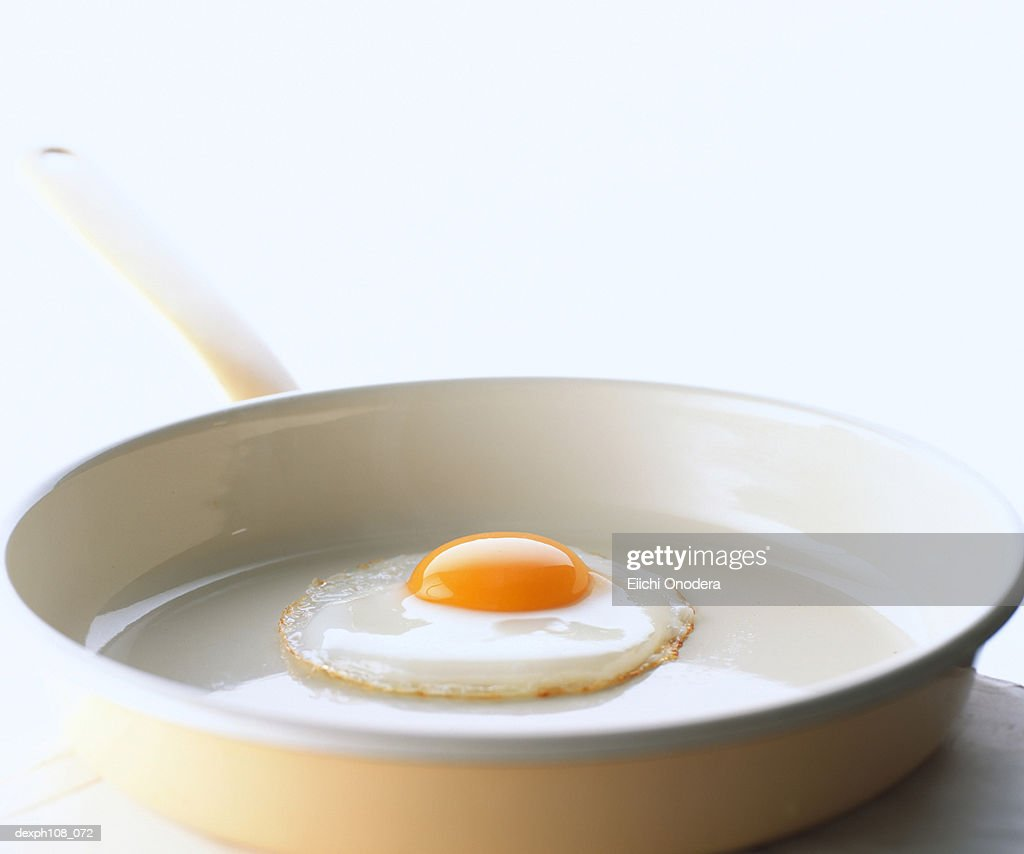 Sunny side-up on pan