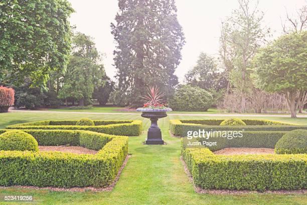 Sunny Topiary Garden