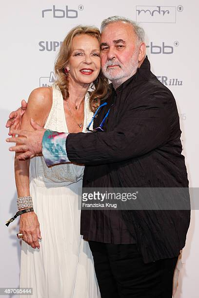 Trixi Millies and Udo Walz attend Madeleine At Goldene Henne 2015 on September 05 2015 in Berlin Germany