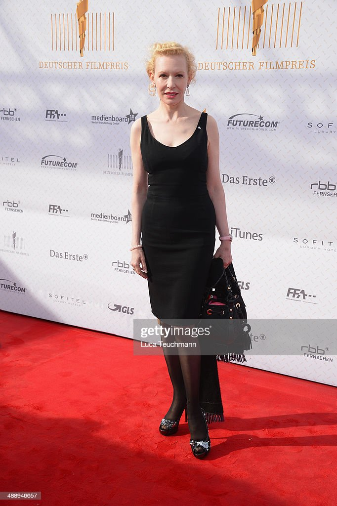 Sunnyi Melles attends the Lola - German Film Award 2014 at Tempodrom on May 9, 2014 in Berlin, Germany