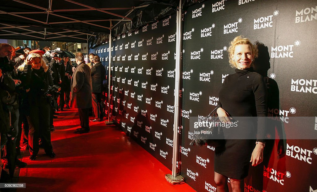 Sunnyi Melles attends the Montblanc House Opening on February 09, 2016 in Hamburg, Germany.