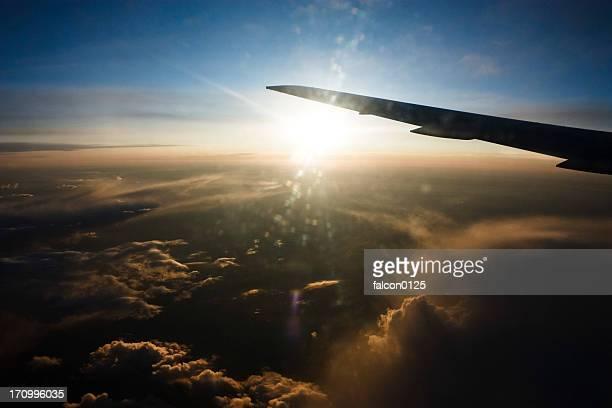 sunrise above cloud
