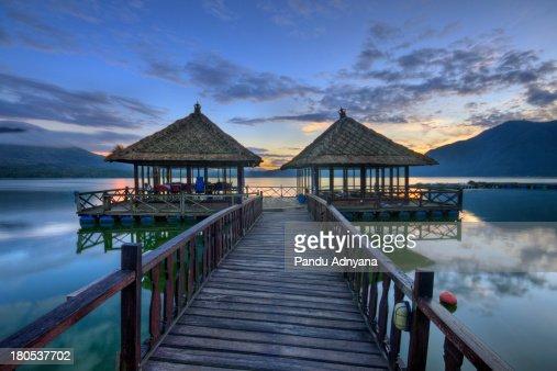 Sunrise at Batur Lake