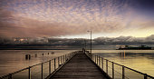Sunrise at Boston Bay, Port Lincoln Jetty, Eyre Peninsula, South Australia