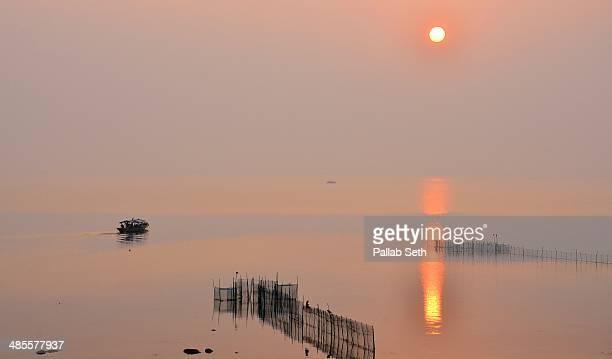 Sunrise at Chilika Lake