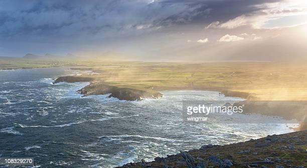 Sonnenaufgang bei Dunmore Head