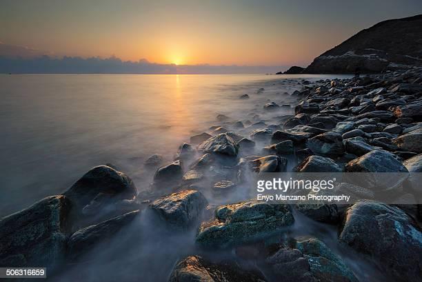 Sunrise at Fujairah Beach