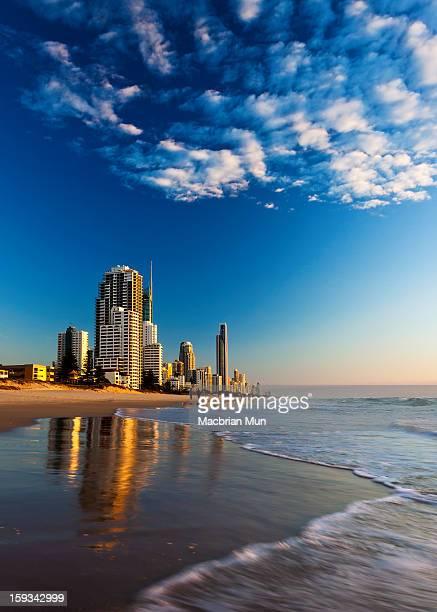 Sunrise at Gold Coast, Australia