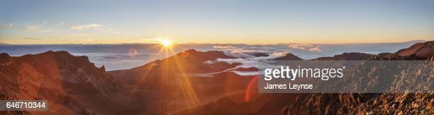 Sunrise at Haleakal National Park