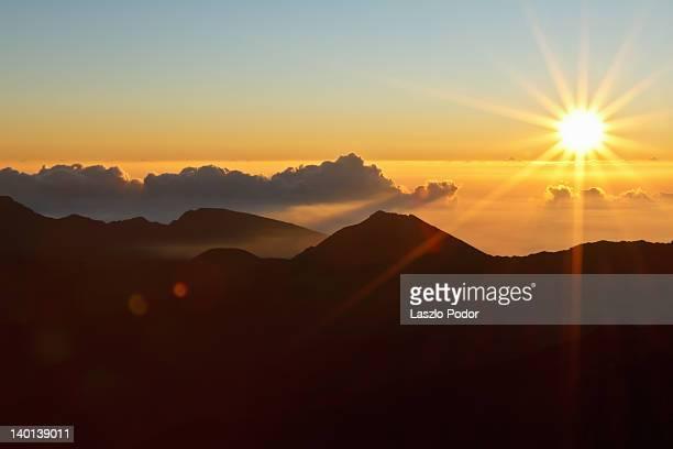 Sunrise at Haleakala Visitor Center