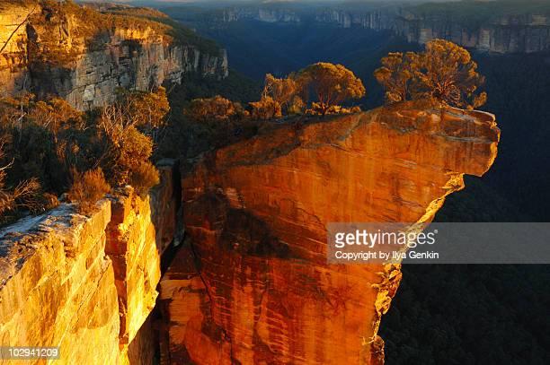 Sunrise at Hanging Rock