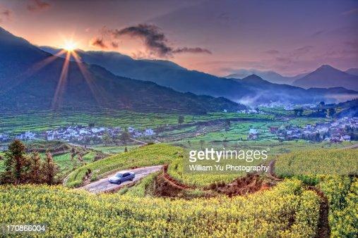Sunrise at Jiangling