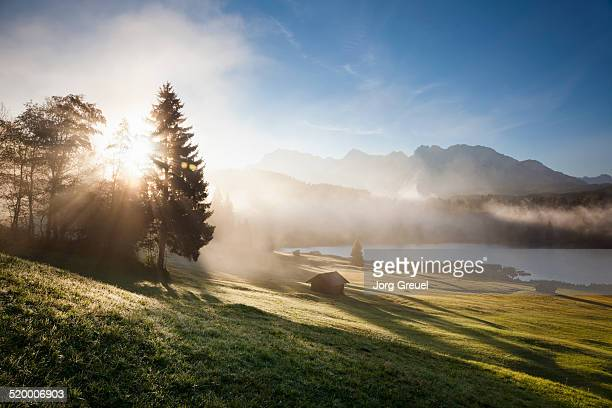 Sunrise at Lake Geroldsee