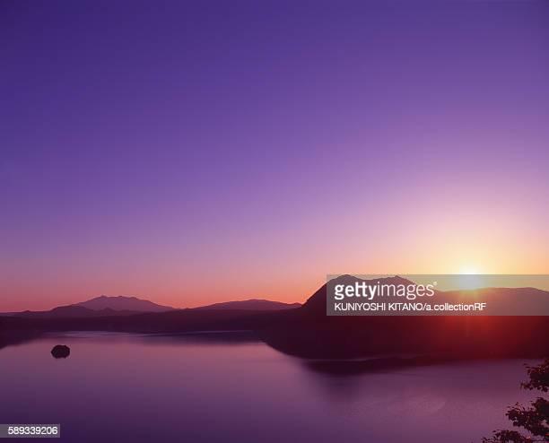 Sunrise at Lake Mashu, Hokkaido Prefecture, Japan