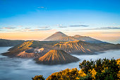 Sunrise at Mount Bromo, Java, Indonesia