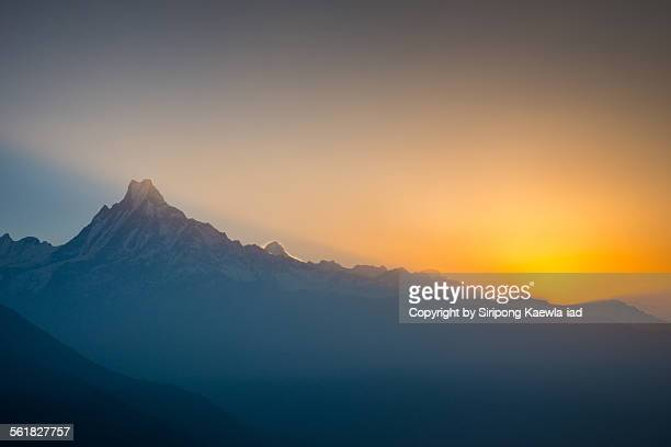 Sunrise at Mount Machhapuchchhre