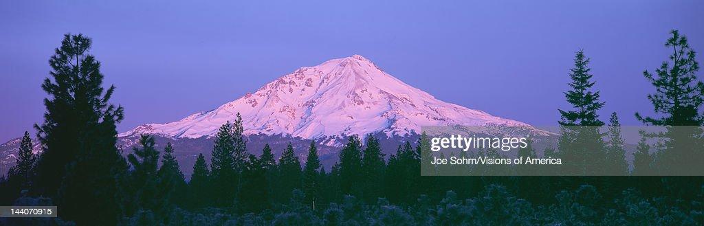 Sunrise at Mount Shasta, California