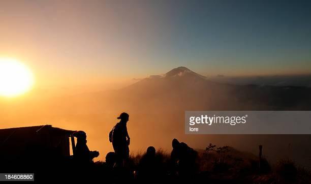 Sunrise at Mt Batur