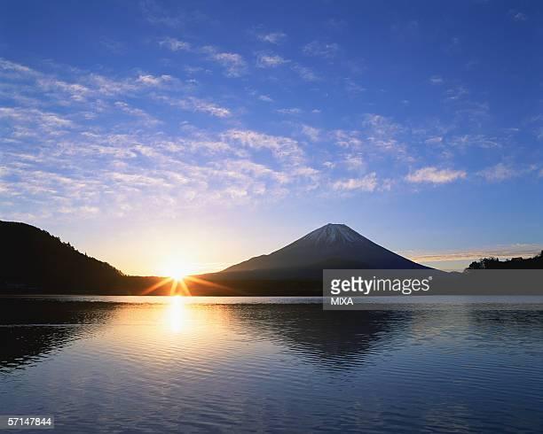 Sunrise at Mt Fuji