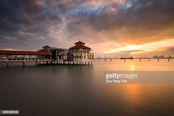 Sunrise at Penang, Malaysia