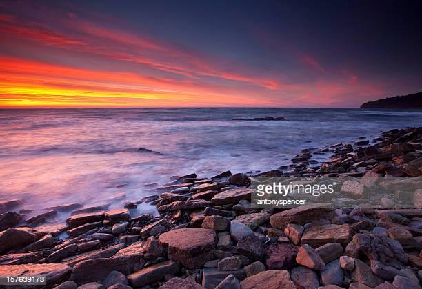 Sunrise at Peveril Point, Swanage, U.k