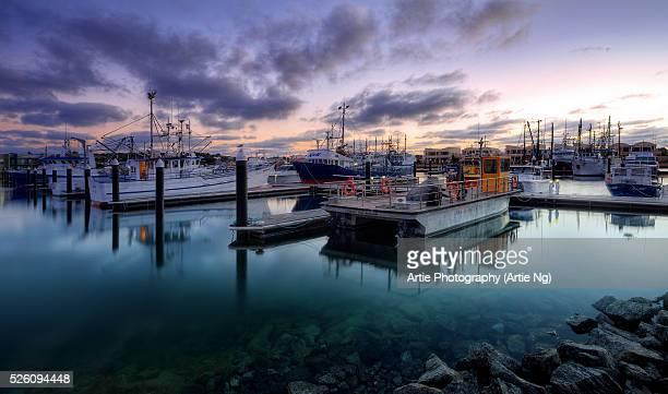 Sunrise At Port Lincoln Cove Marina, Eyre Peninsula, South Australia