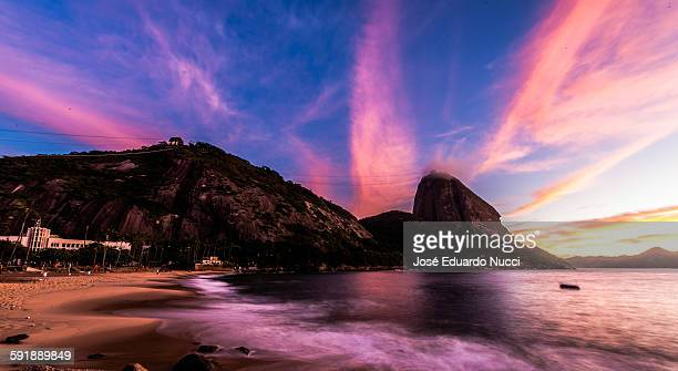 Sunrise at Praia Vermelha, Rio de Janeiro, Brazil