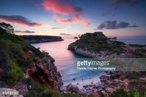 Sunrise at the Bay Cala des Moro