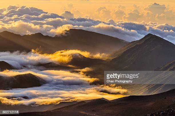 Sunrise at the Summit of Haleakala