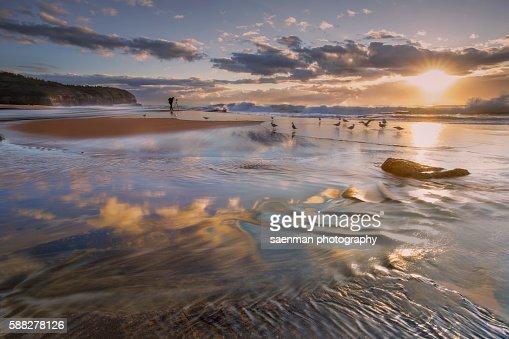 Sunrise at Turimetta Beach