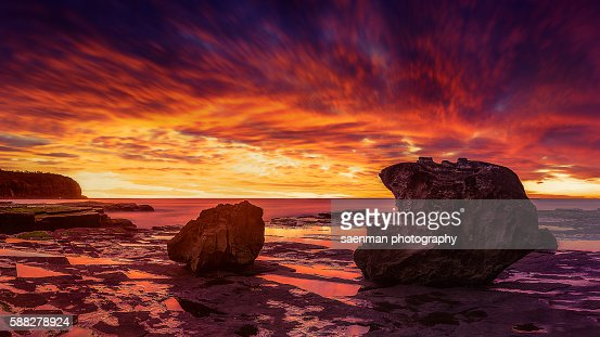 Sunrise at Turimetta Beach