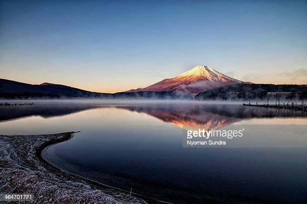 Sunrise at Yamanaka Lake