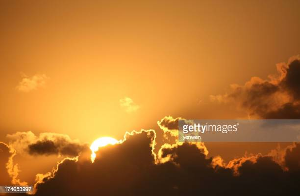 Sunrise Behind Cloud