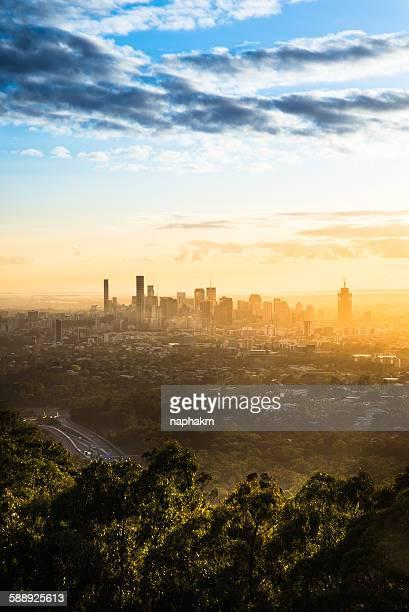Sunrise brisbane city