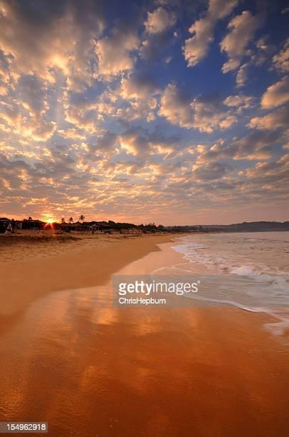 Sunrise Candolim Beach, Goa
